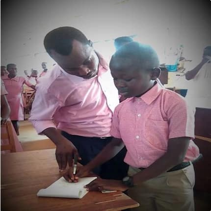 Meet 12-year-old Science student of Navrongo Senior High School who jumped from Class 1 to Class 5 (photos)