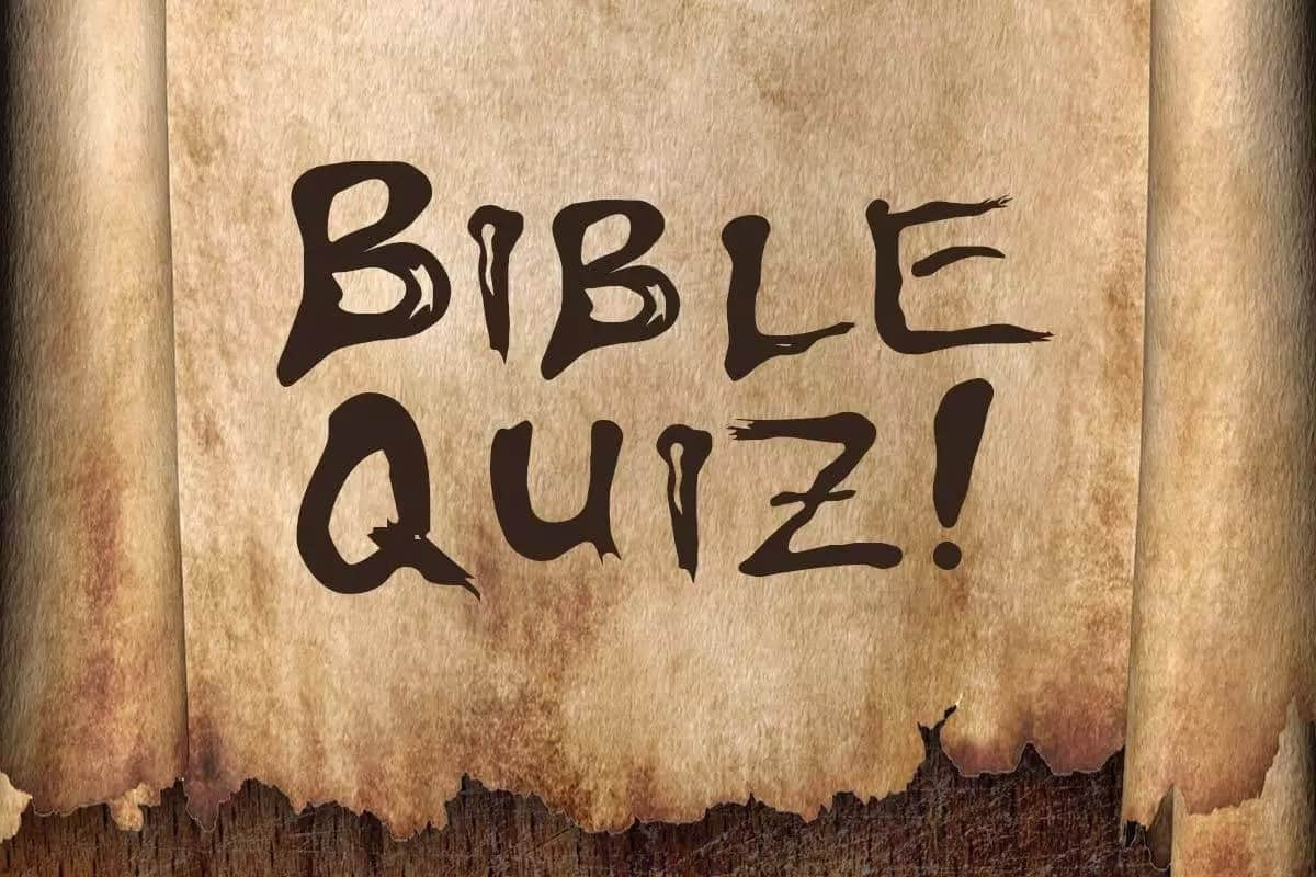 bible quiz questions and answers for youth