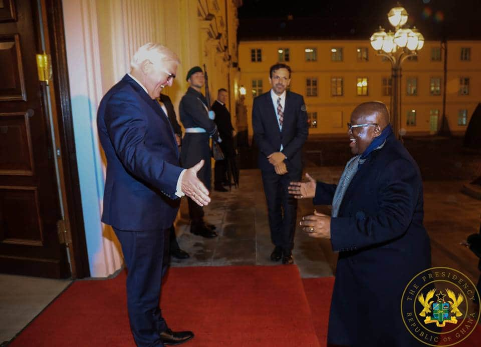 7 wild photos that prove Akufo-Addo is having a great time in Germany