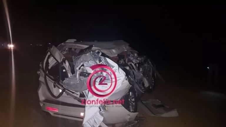 Photos of the vehicle Joyce Blessings and Zylofone team had an accident in