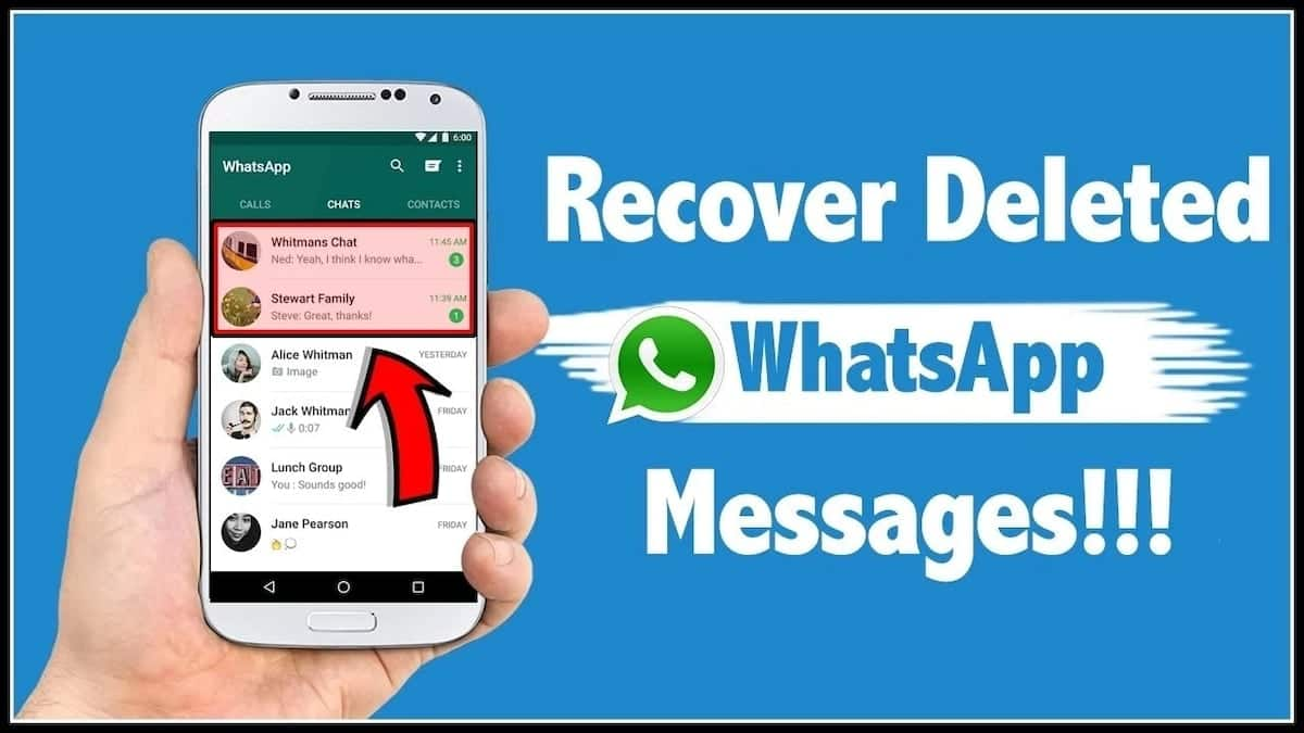 How to retrieve deleted WhatsApp messages