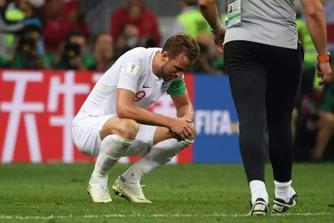 The best emotional photos from England's 2-1 loss to Croatia
