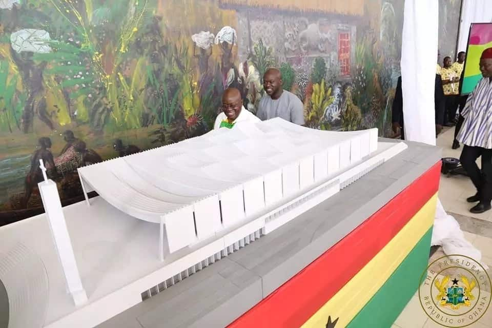 Akufo-Addo unveils National Cathedral designs