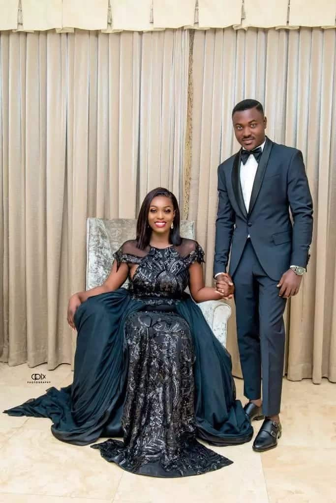 Mr. Henry of Twens music group releases dazzling pre-wedding photos with pretty fiancé