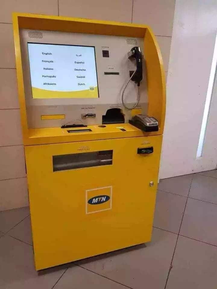 The self-service kiosks for mobile money users introduced