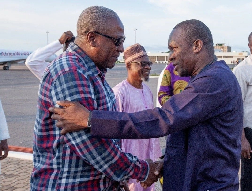 NDC supporters blast Bagbin for describing Mahama's administration as 'animal farm' government