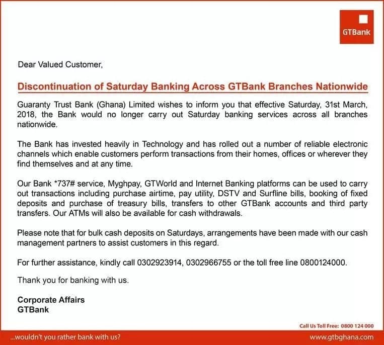 branches of gt bank in accra gt bank branches in accra central gtbank saturday banking accra branches