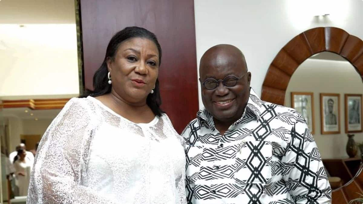 VIDEO: Nana Addo boogies with wife to celebrate birthday