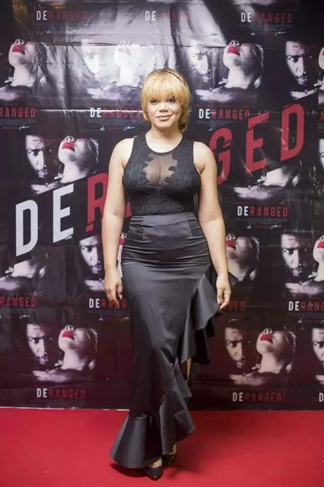 "Photos: Nadia Buari holds private screening of new movie, ""Deranged"""