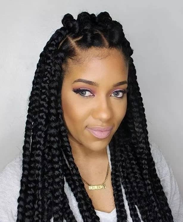 Natural African hairstyles for ladies in Ghana ▷ YEN.COM.GH