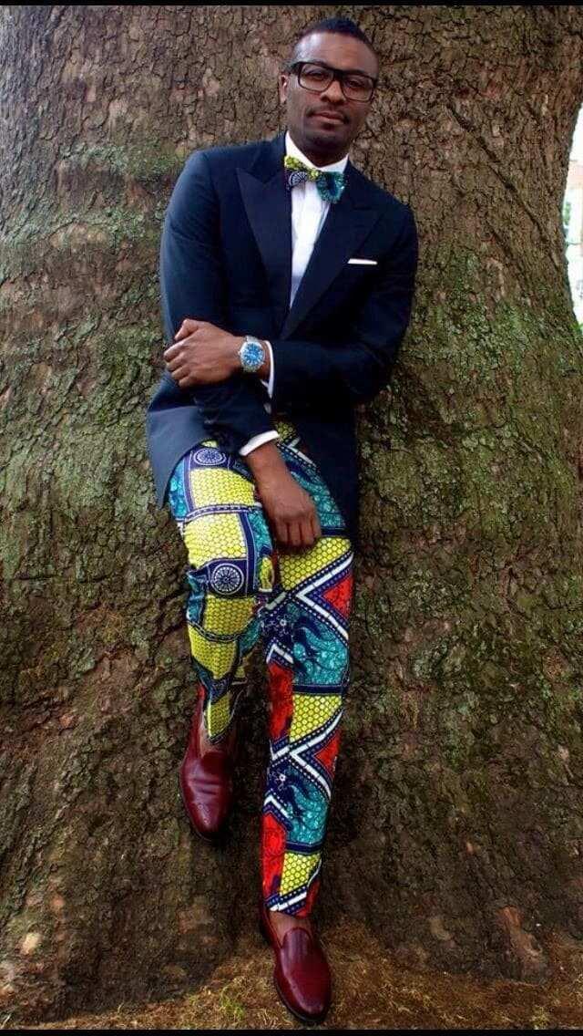 Ankara men's African wear African wear for men  African wear for men 2018