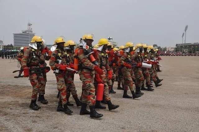 Ghana fire service recruitment 2108