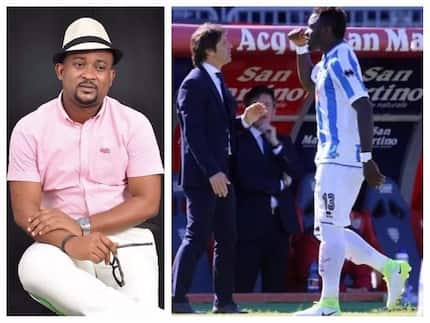 Deputy Sports Minister condemns Muntari one match ban, says we are not monkeys nor blacks