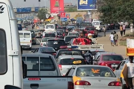 Top 7 places in Accra you must avoid driving this Christmas due to heavy traffic