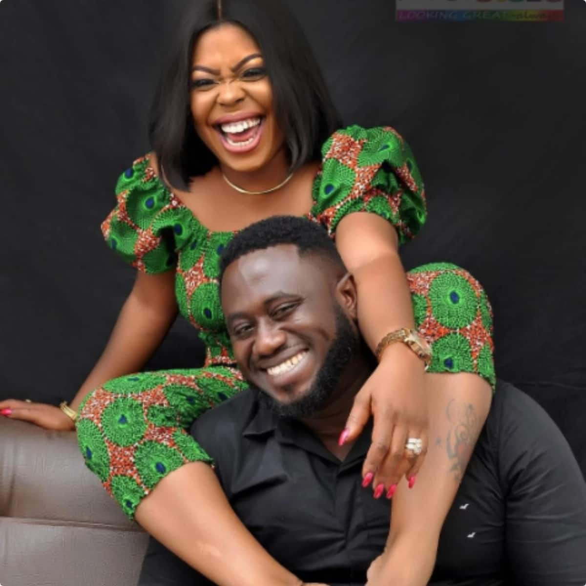 "My husband is every woman's prayer point and also ""excellent in bed"" - Afia Schwarzenegger"
