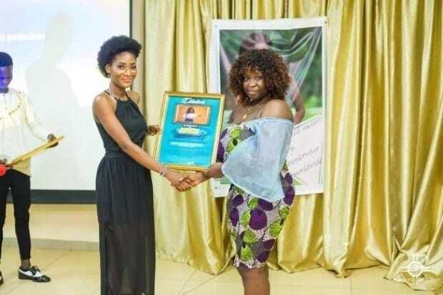 Maame Serwaa honoured by UCC