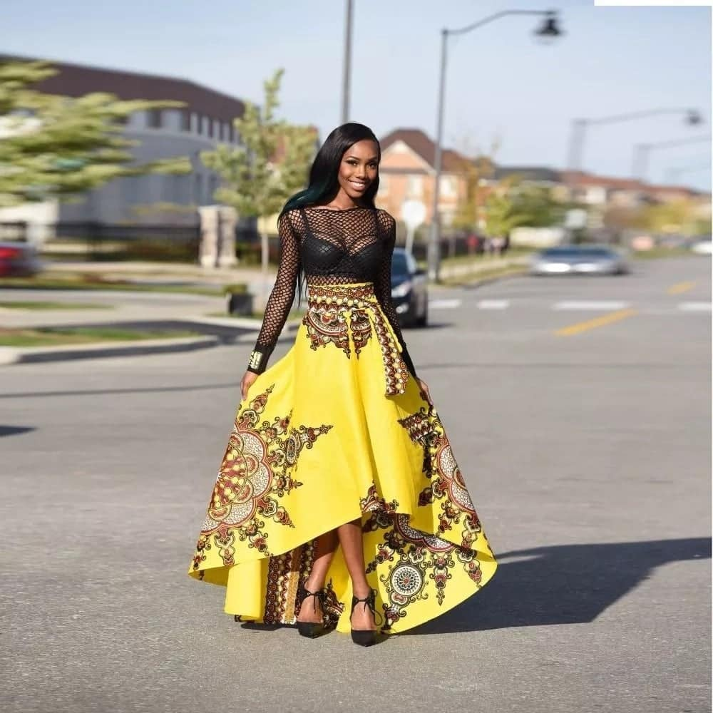 african print styles for work, african print dresses for work, african skirt suit designs