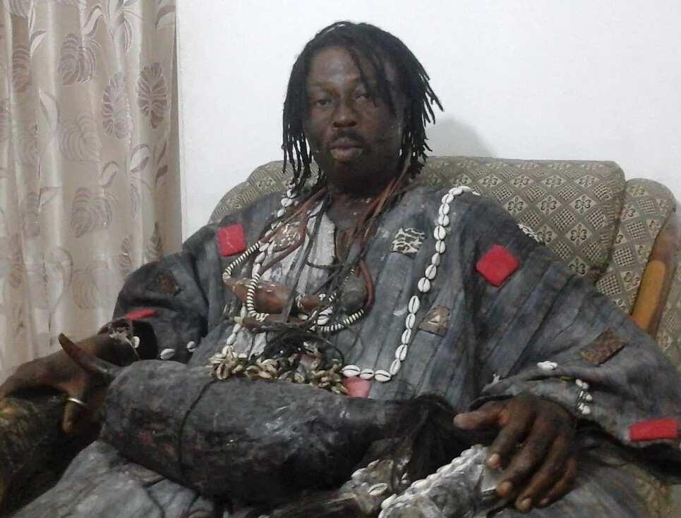 Fetish Priest Kwaku Bonsam says he is behind all hit songs in Ghana