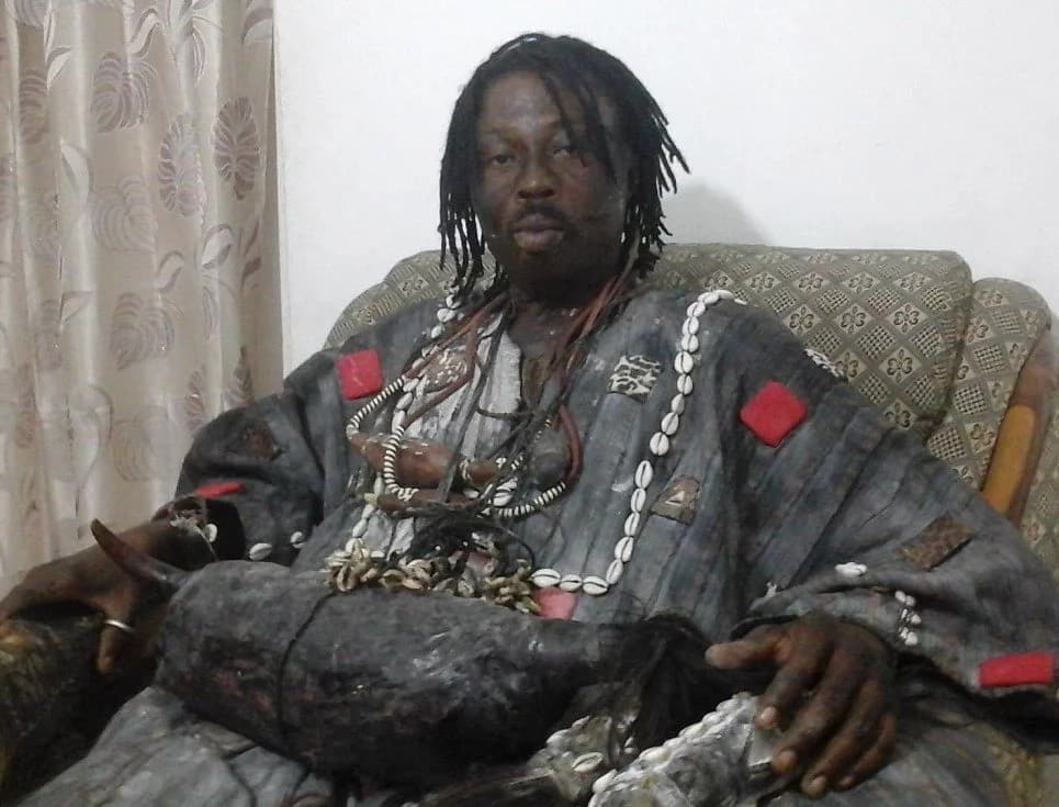 Kwaku Bonsam: Fetish Priest Reveals he has 4,932 Pastors Under his Control; Lil Win Visited him