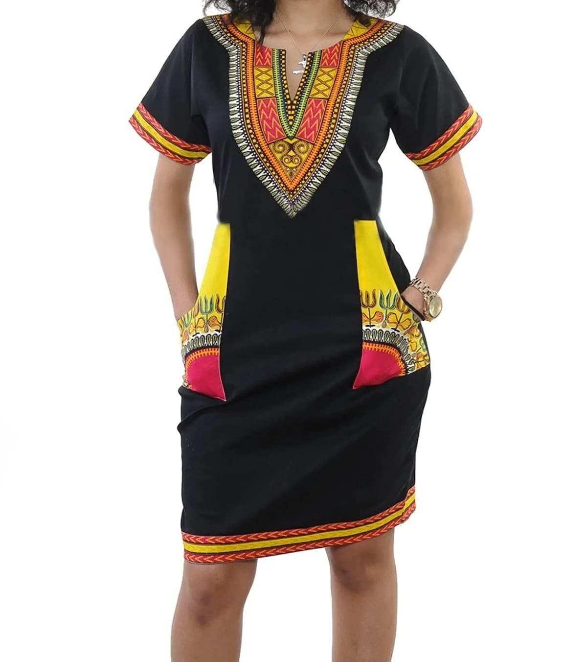 pretty short african dresses, short african print dresses 2018, short african prom dresses