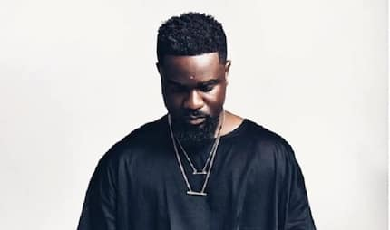Rapper Sarkodie goes into 'pure water' production as photo pops up online