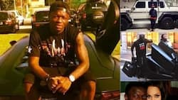 Photos detail Sulley Muntari's millionaire living of luxurious cars, costly mansion and a beautiful woman