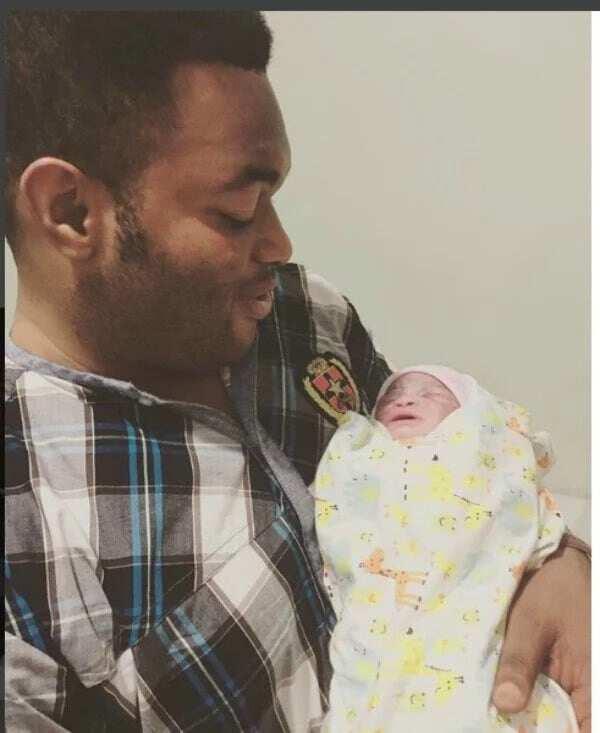 Kwadwo Safo: Juliet Ibrahim's ex-husband welcomes baby girl