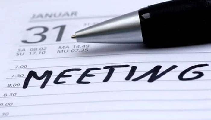 How to write a report on a meeting