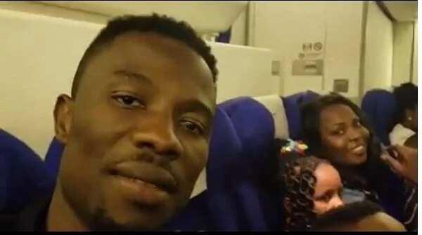 Kwaku Manu flies family to US for wife's birthday bash (Photos)