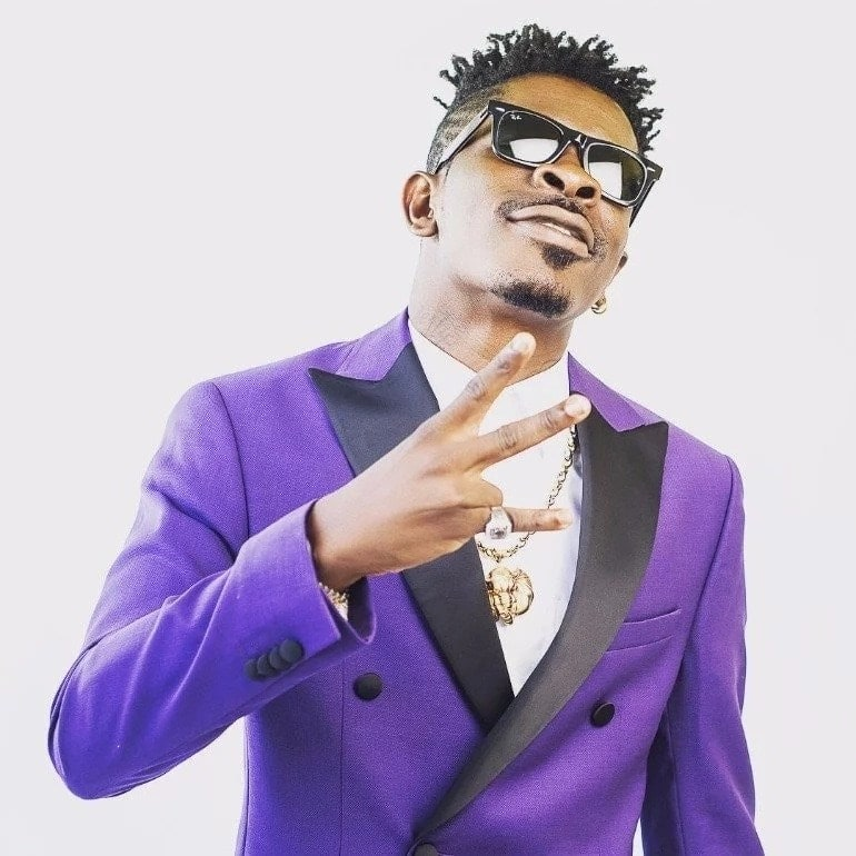 Shatta Wale looking classy in new photos