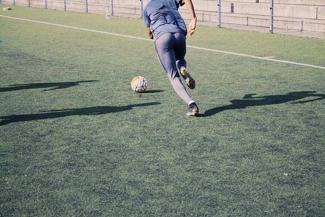 Photos: Sharaf Mahama takes it easy in Belgium
