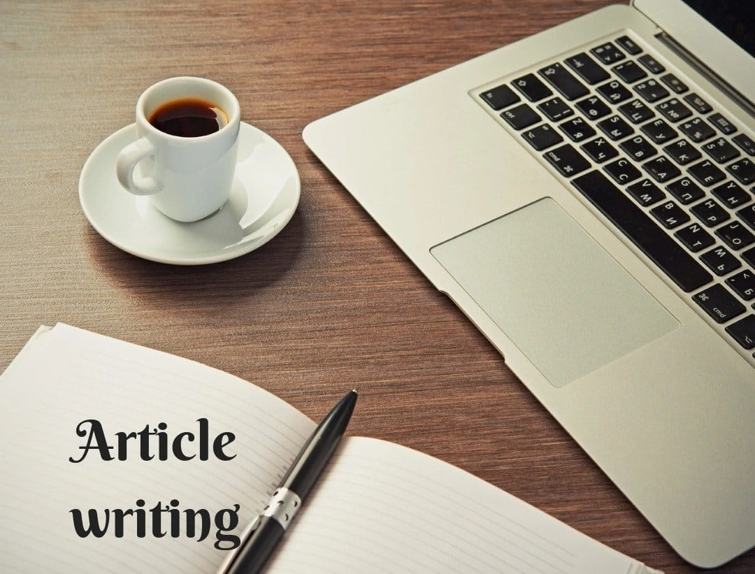 How to write an article How to format an article Article sample How to create article topics Well written articles