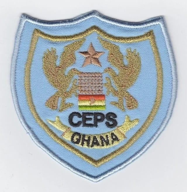 Ghana CEPS Ranks and Their Symbols