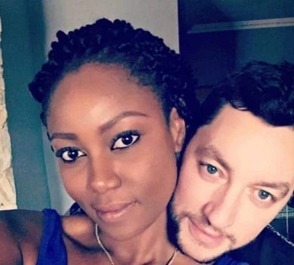 Yvonne Nelson and her 'Obroni' cause traffic on social media with yet another cute photo