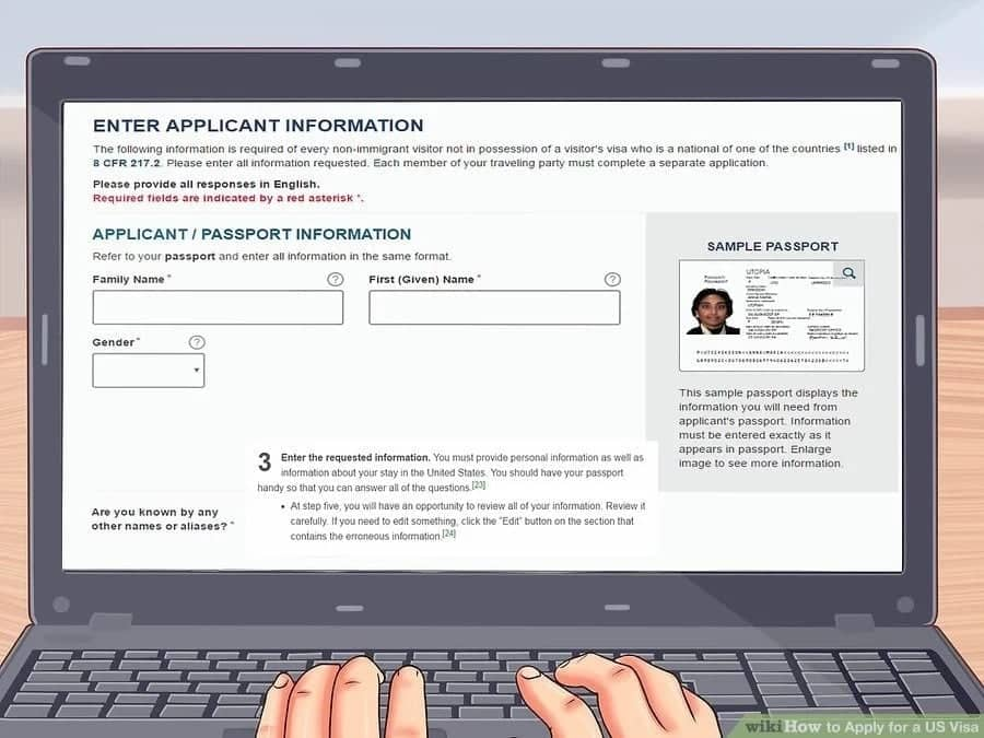 How to Apply For Us Visa Online