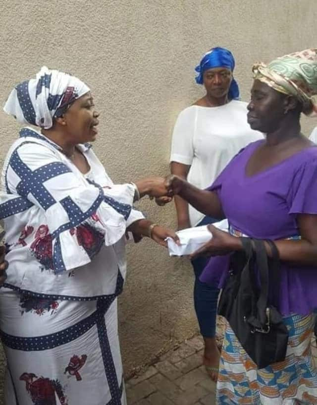 Assaulted nursing mother gets support from Ghanaians
