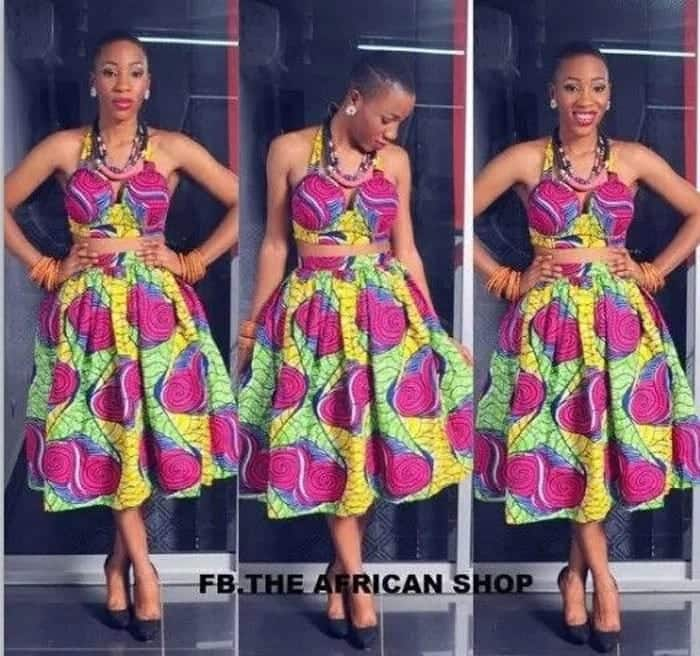 African Straight Dress Styles