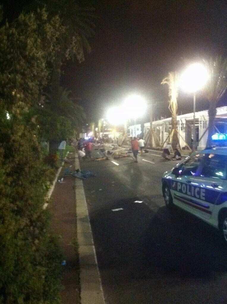 Truck kills dozens during Bastille Day fireworks in Nice