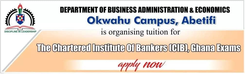 chartered institute of bankers ghana syllabus chartered institute of bankers ghana courses chartered institute of bankers ghana fees association of chartered institute of bankers ghana