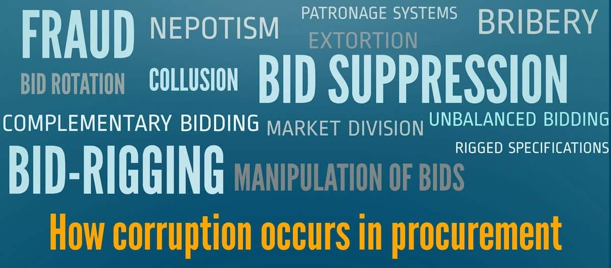 types of corruption, types and causes of corruption