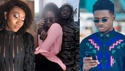 RuffTown 'Darling' Wendy Shay 'burns' song in video; Kuami Eugene, others laugh