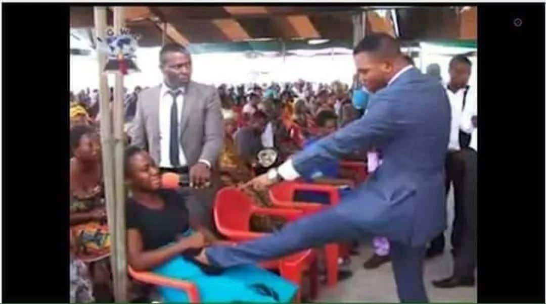 Our own Obinim in a miracle