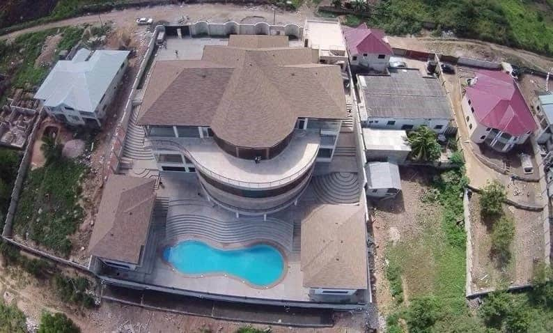 Asamoah Gyan New House in Accra