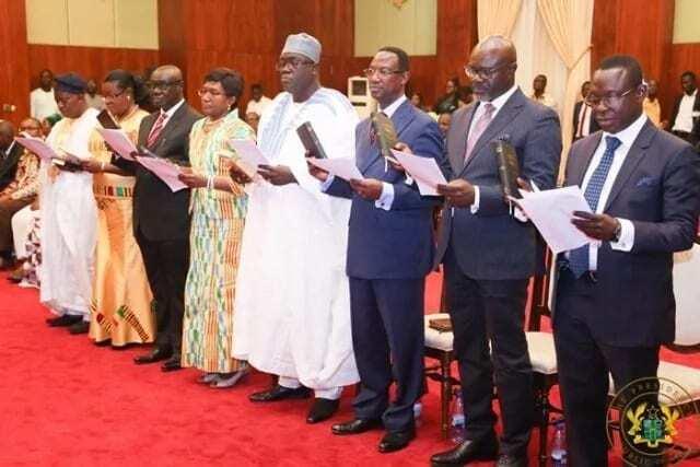 Akufo-Addo swears in 8 new envoys