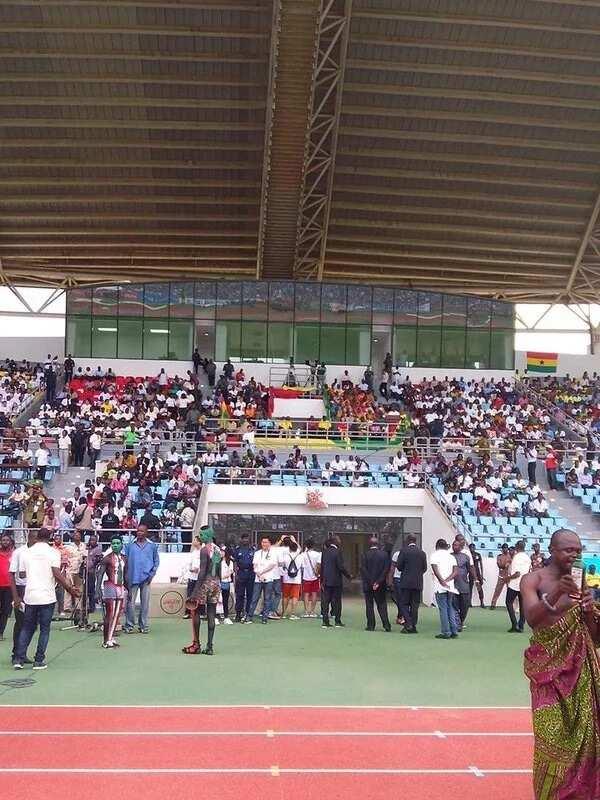 President Mahama commissions Cape Coast Stadium