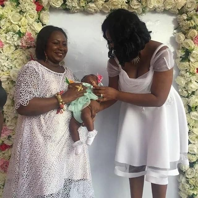 Nana Ama Mcbrown meets the Princess of Adumasa