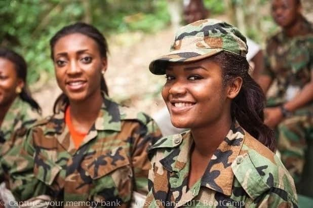 Ghanaian men are afraid to propose to us - Military women cry out