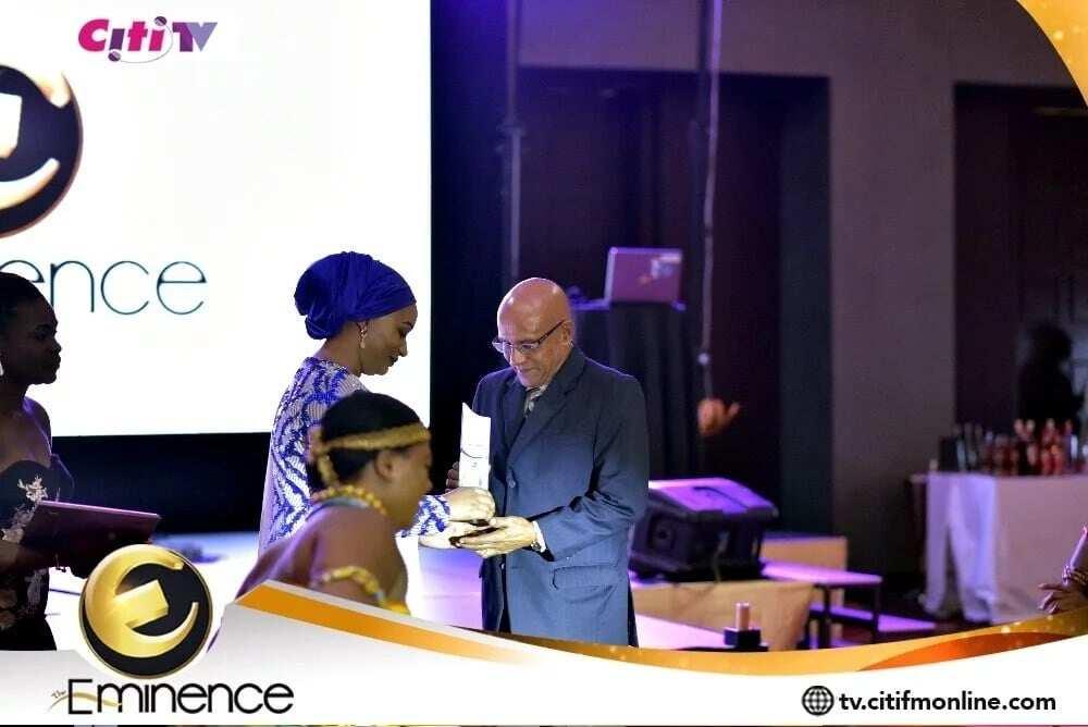 Samira Bawumia dazzles at the maiden Eminence Awards