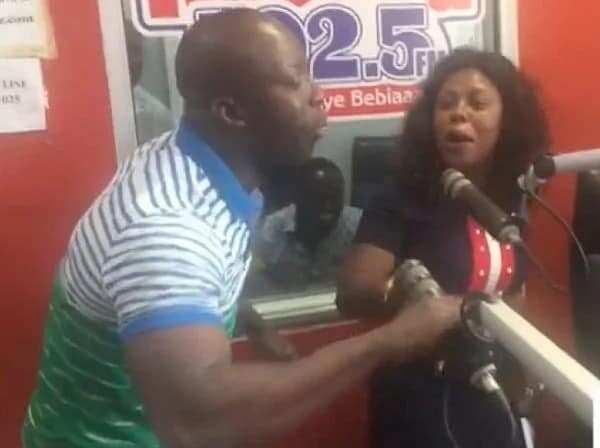 Afia Schwarzenegger and Kumchacha throw 'blows' at Kasapa FM