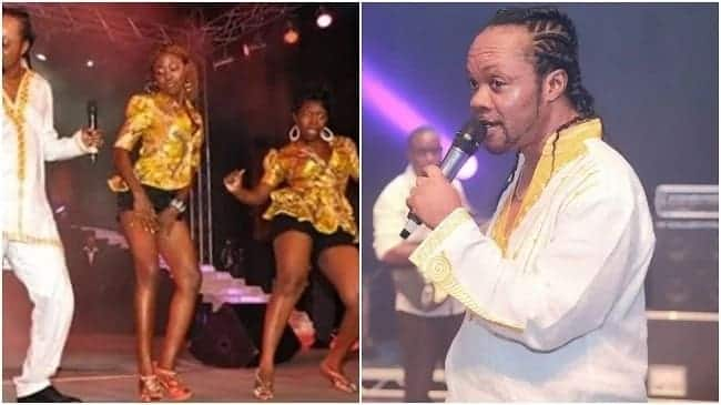 Daddy Lumba storms stage with 'crazy' dancers at African Legends Night (Video)